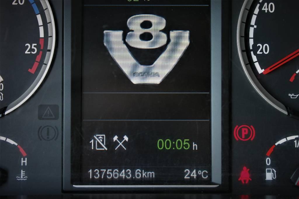 Scania R 560, Hakekuorma-autot, Kuljetuskalusto
