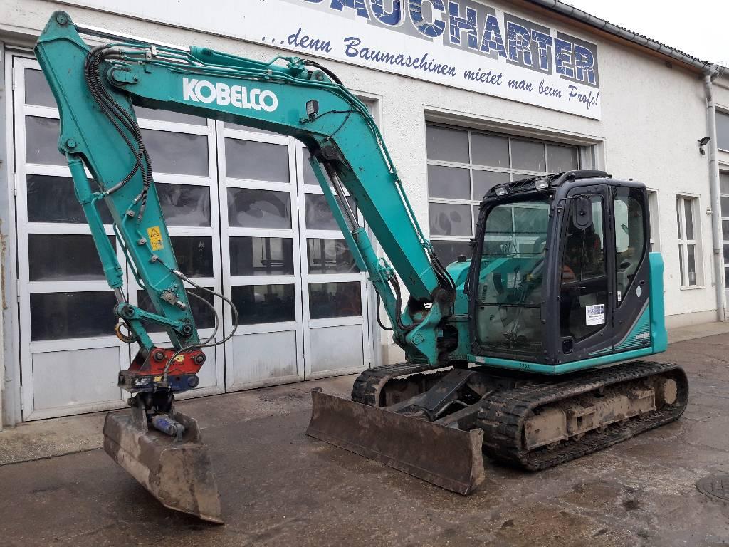 Kobelco SK 85 MSR-3, Midibagger  7t - 12t, Baumaschinen