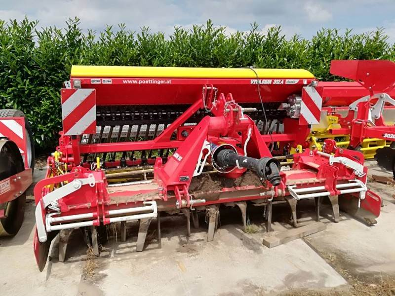Pöttinger Lion 303, Rotorkopeggen / rototillers, Landbouw