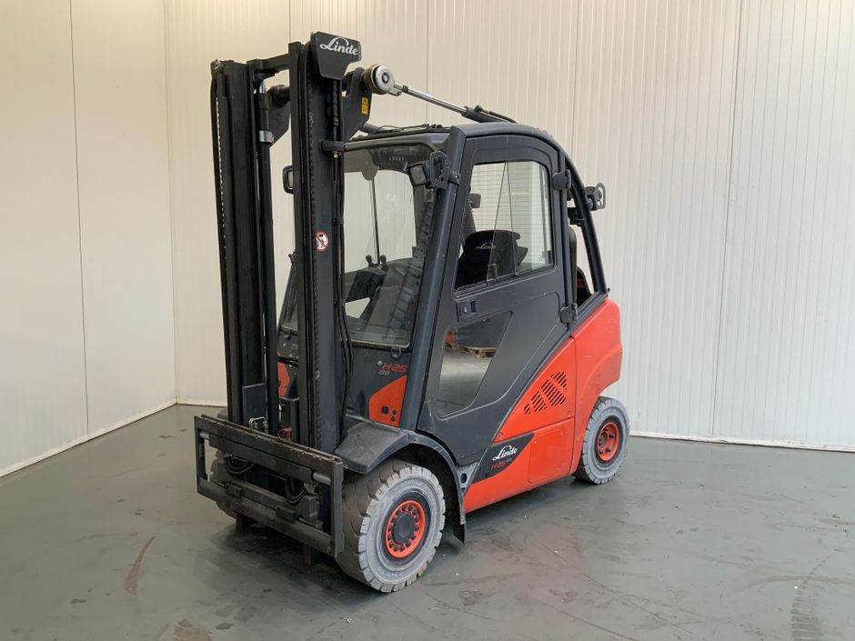 Linde H25 T 392 Serie, LPG trucks, Material Handling
