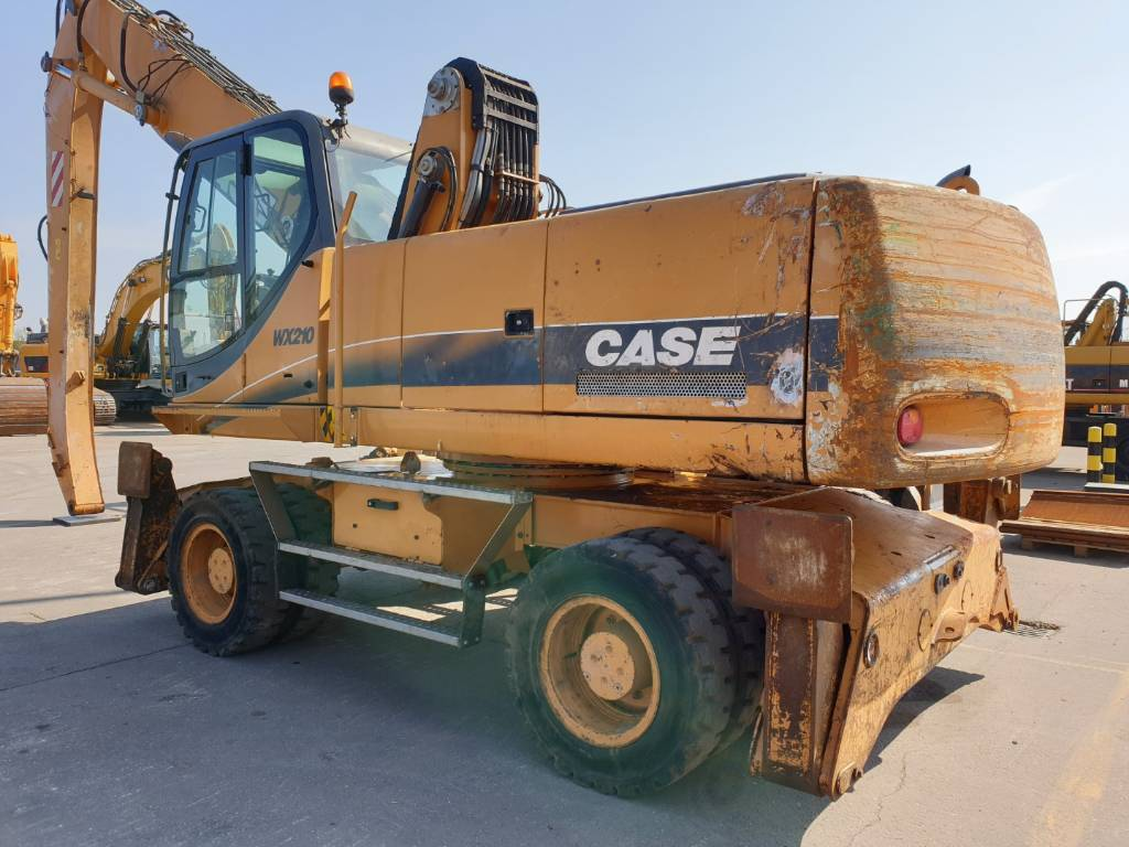 CASE WX210 T, Waste / Industry Handlers, Construction Equipment