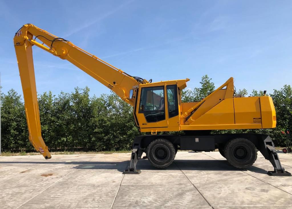 Fuchs MHL 350, Waste / industry handlers, Bouw