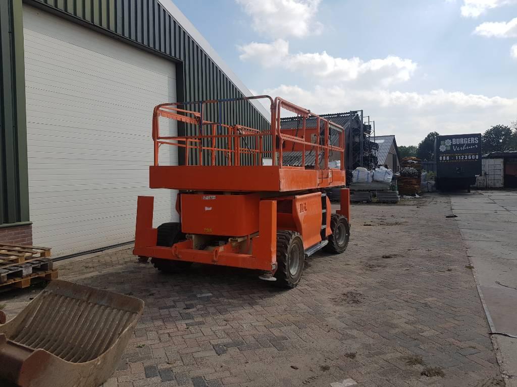JLG 3394 RT, Schaarhoogwerkers, Bouw
