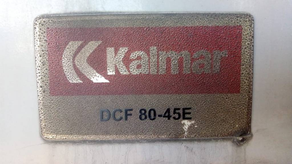 Kalmar DCF80-45E7, Container handlers, Material Handling