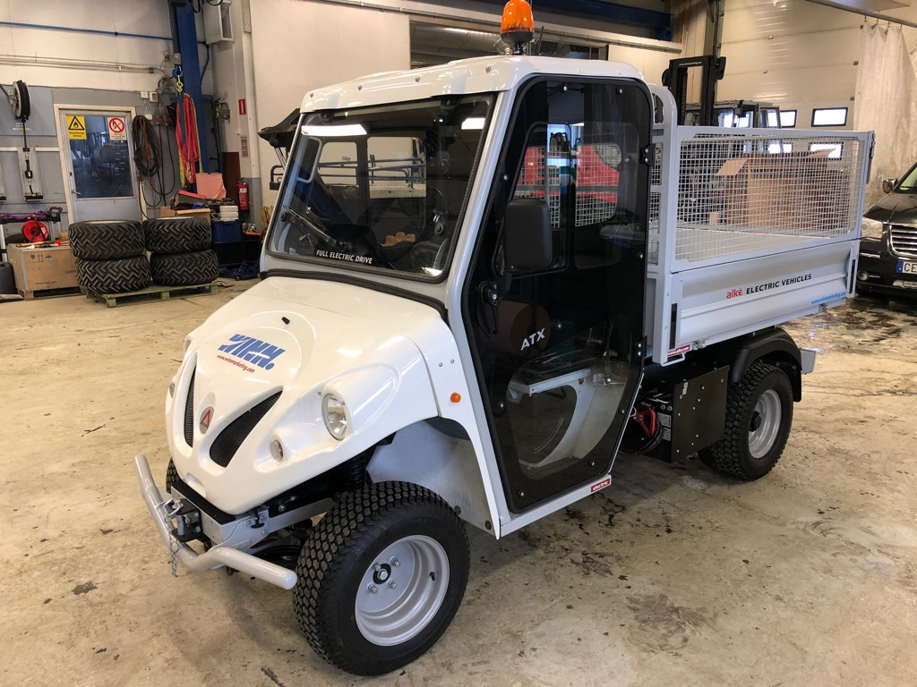 [Other] Alkè ATX230E Kranbil, Elektriska fordon, Transportfordon