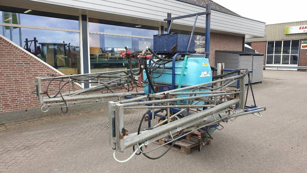 Sieger SM veldspuit, Mounted sprayers, Agriculture
