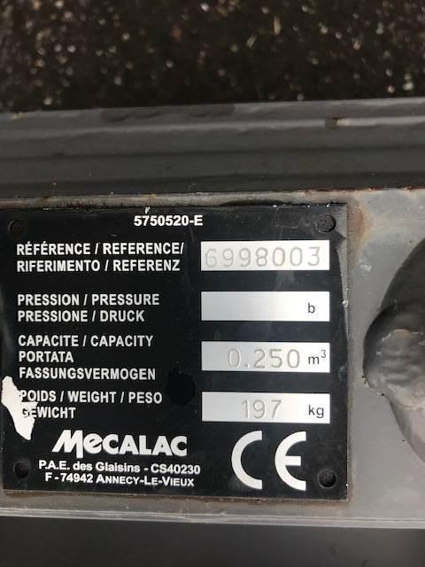 Mecalac Dieplepelbak 750 mm 8MCR, Bakken, Bouw