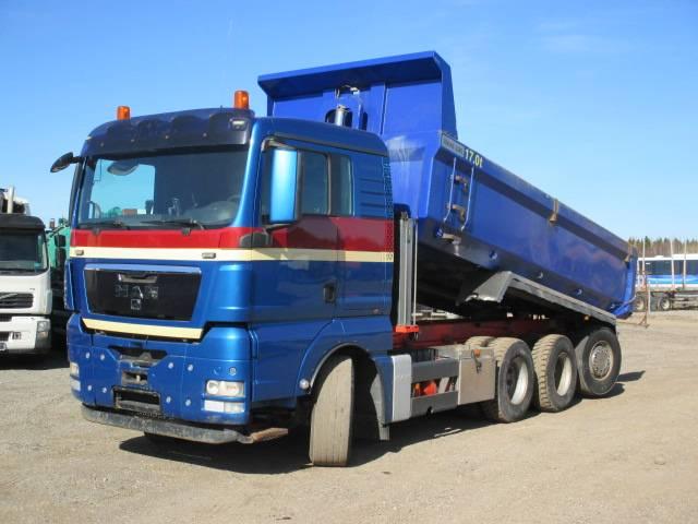 MAN TGX 35.480, Kallurid, Transport