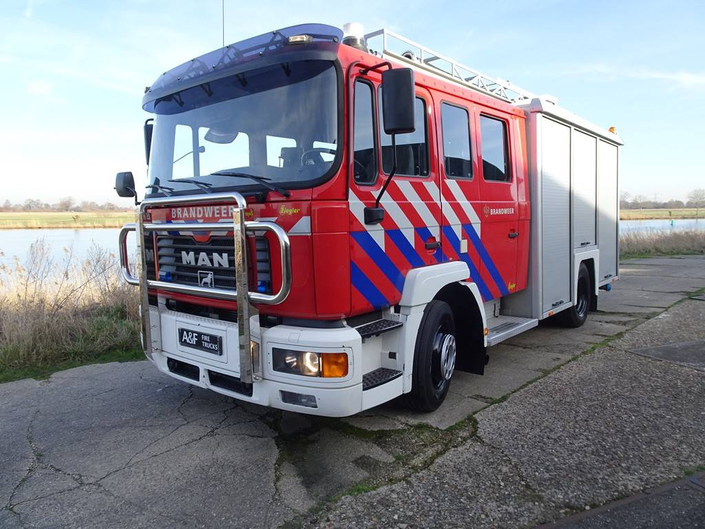 MAN 14-254 Ziegler incl Equipment 2001, Fire trucks, Transportation