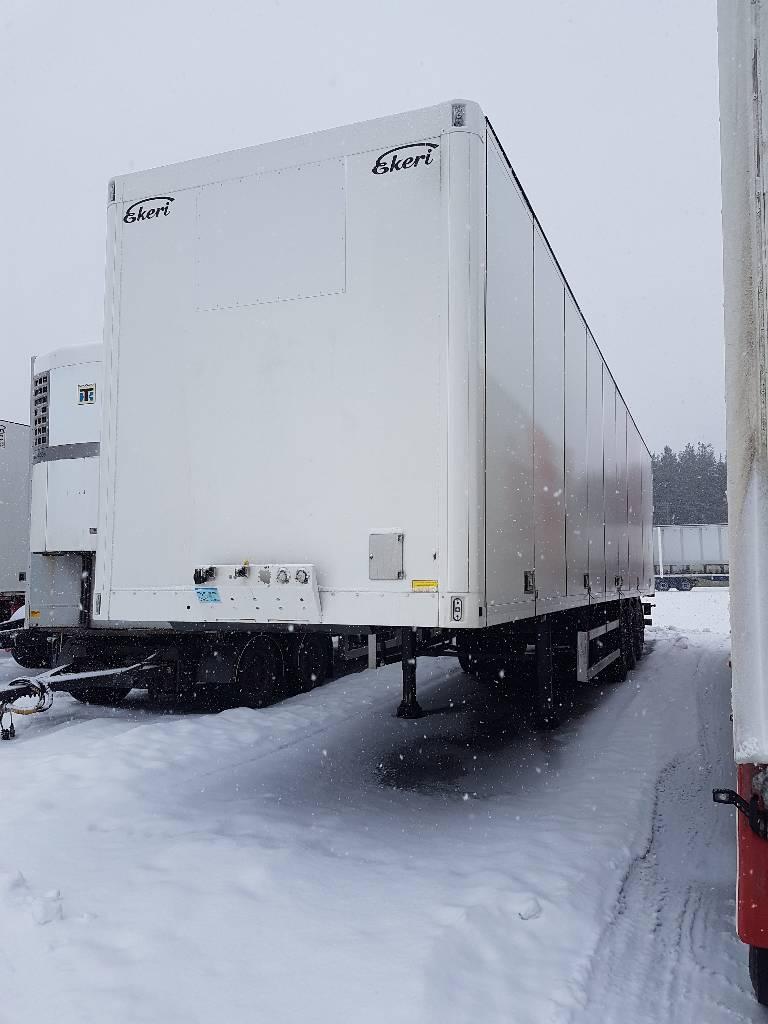 Ekeri Kylkiaukeava ppv, vm-12, WWA-263, Box body semi-trailers, Transportation