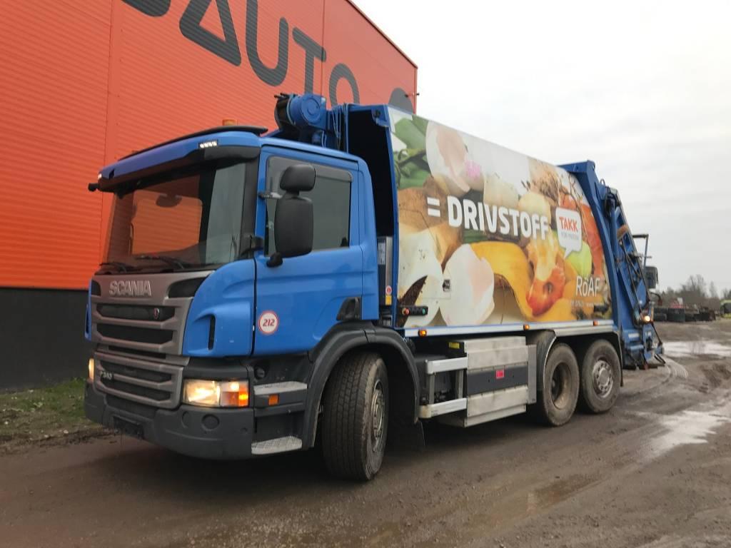 Scania P 340 6X2*4 NTM KGH - HB / YEAR 2014 / 20,5, Other Trucks, Trucks and Trailers
