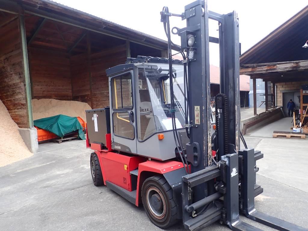 Kalmar ECF70-6, Electric forklift trucks, Material Handling