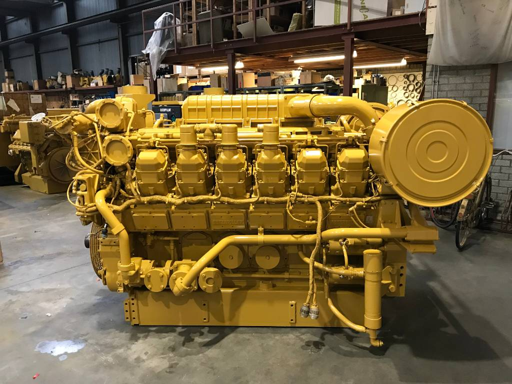 Caterpillar 3512B - Locomotive Engine 3ZW - DPH 105065, Industrial Applications, Construction