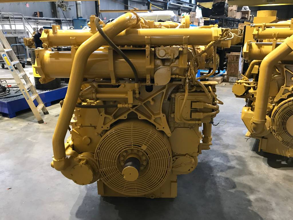 Caterpillar 3512B - Locomotive Engine - 3ZW, Industrial Applications, Construction