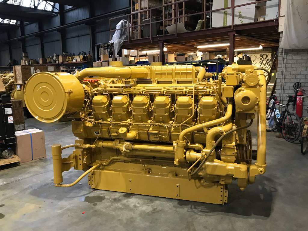 Caterpillar 3512B - Locomotive Engine 3ZW, Industrial Applications, Construction
