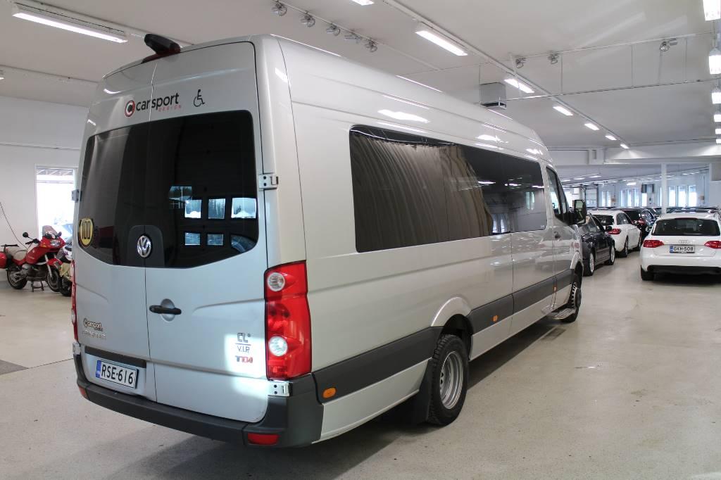 Volkswagen Crafter, Turistibussit, Kuljetuskalusto