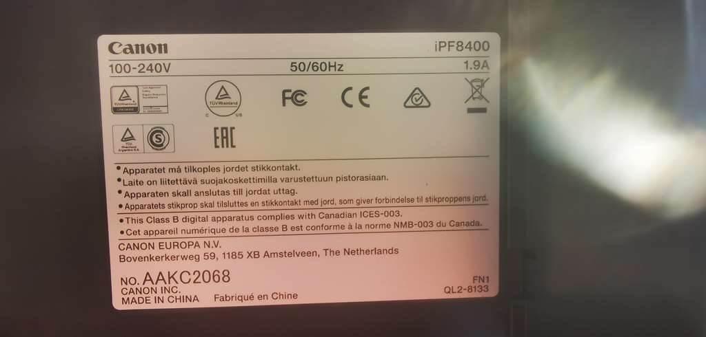 [Other] Canon imagePROGRAF iPF8400, Wide Format Printers, Extra