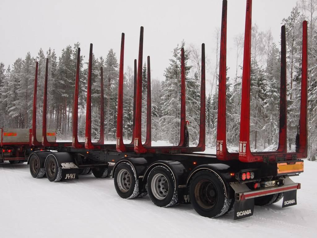 Jyki 5-akselinen puutavaravaunu, Puuperävaunut, Kuljetuskalusto