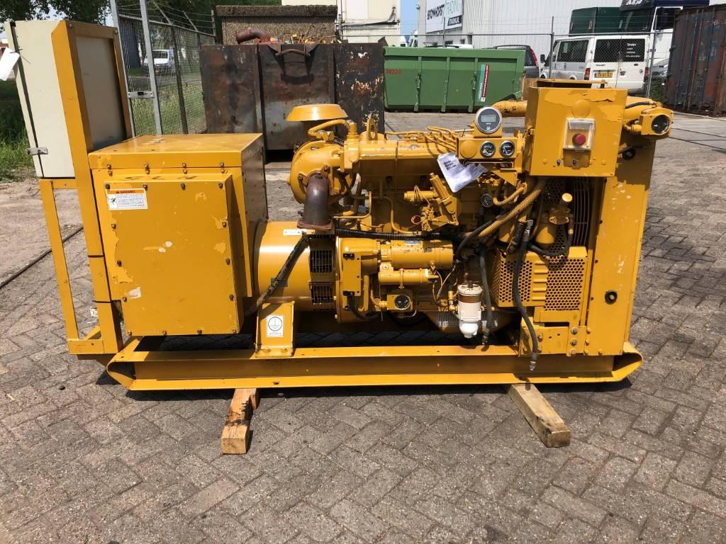 Caterpillar 3304 DIT - Marine Generator set - 124 kVa, Marine auxiliary engines, Construction