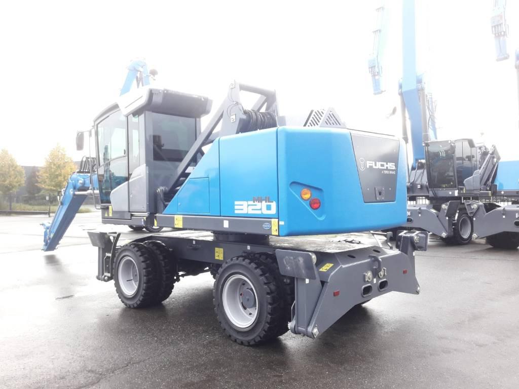 Fuchs MHL 320 F, Waste / industry handlers, Bouw