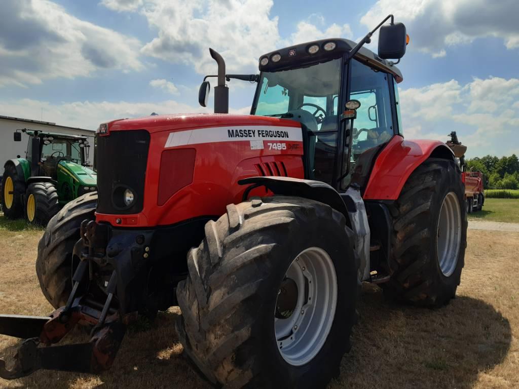 Massey Ferguson 7495, Traktory, Maszyny rolnicze