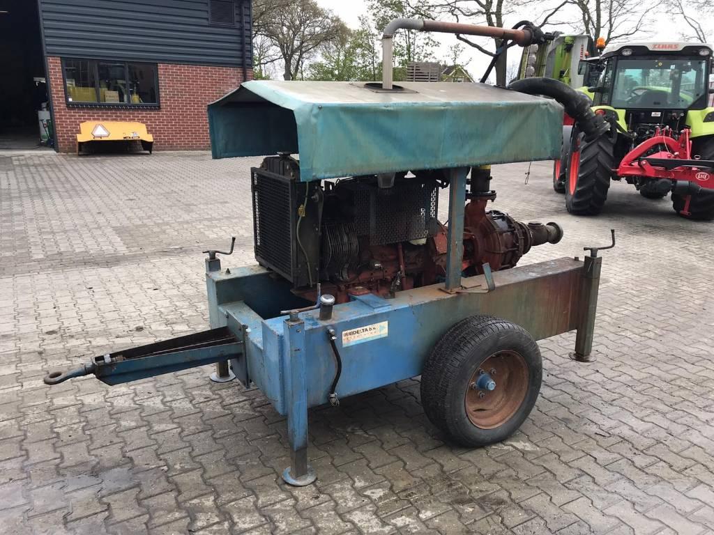 Gecomi beregenings motor, Irrigation pumps, Agriculture