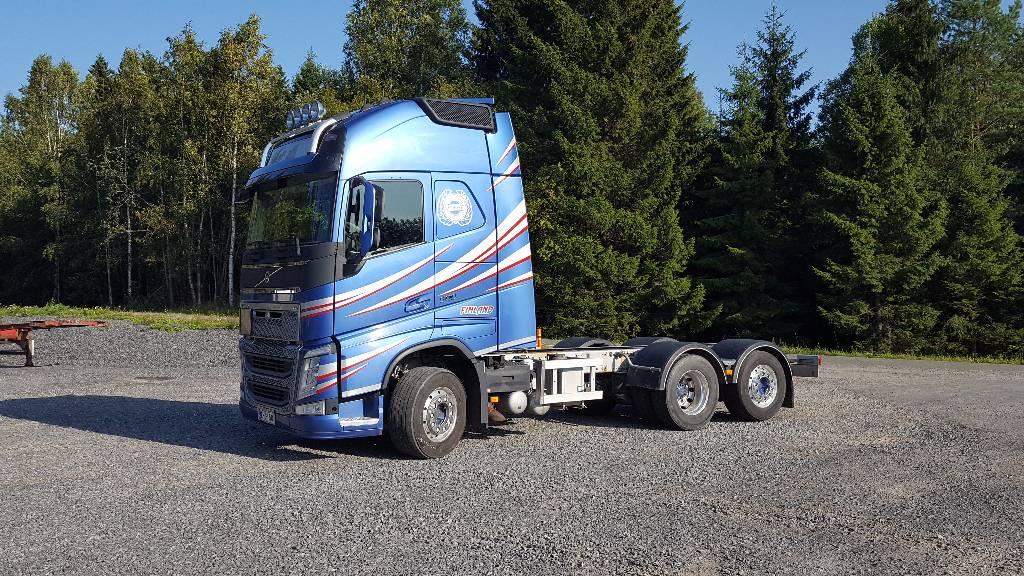 Volvo FH13 500, Kuorma-autoalustat, Kuljetuskalusto