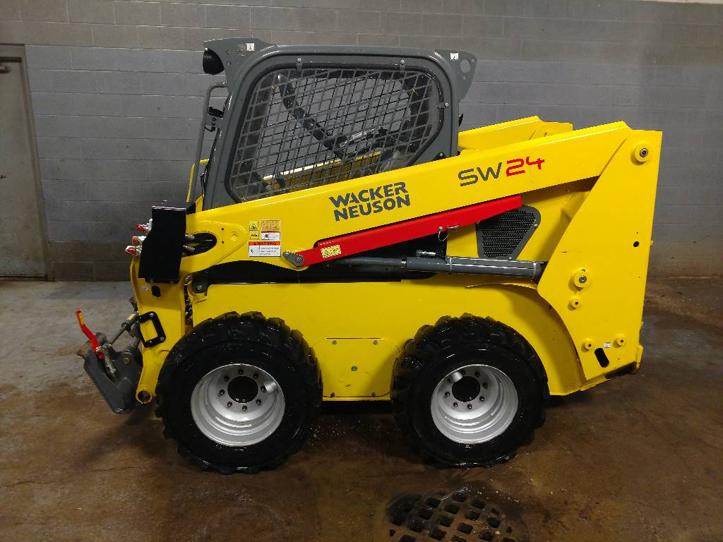Wacker Neuson SW24, Skid steer, Construction Equipment