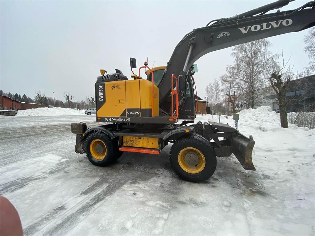 Volvo EWR 150 EL, Wheeled Excavators, Construction Equipment