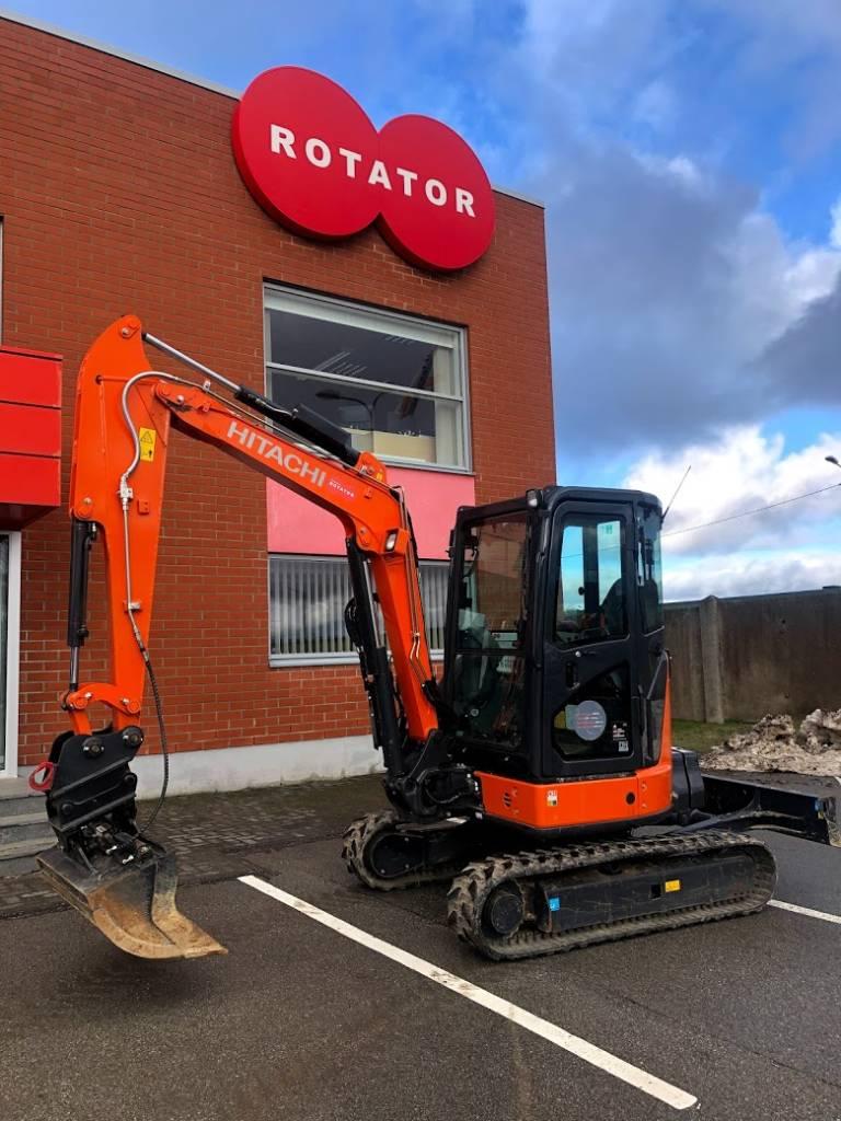 Hitachi ZX38U, Mini excavators < 7t (Mini diggers), Construction