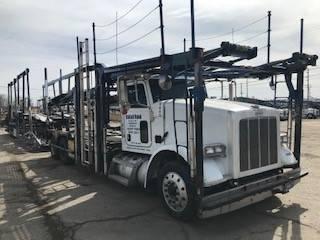 9805 Peterbilt 365, Car Haulers, Trucks and Trailers