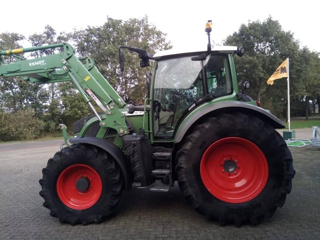 Fendt 516 Vario SCR Profi met Fendt Cargo 4X80 DW, Tractoren, Landbouw