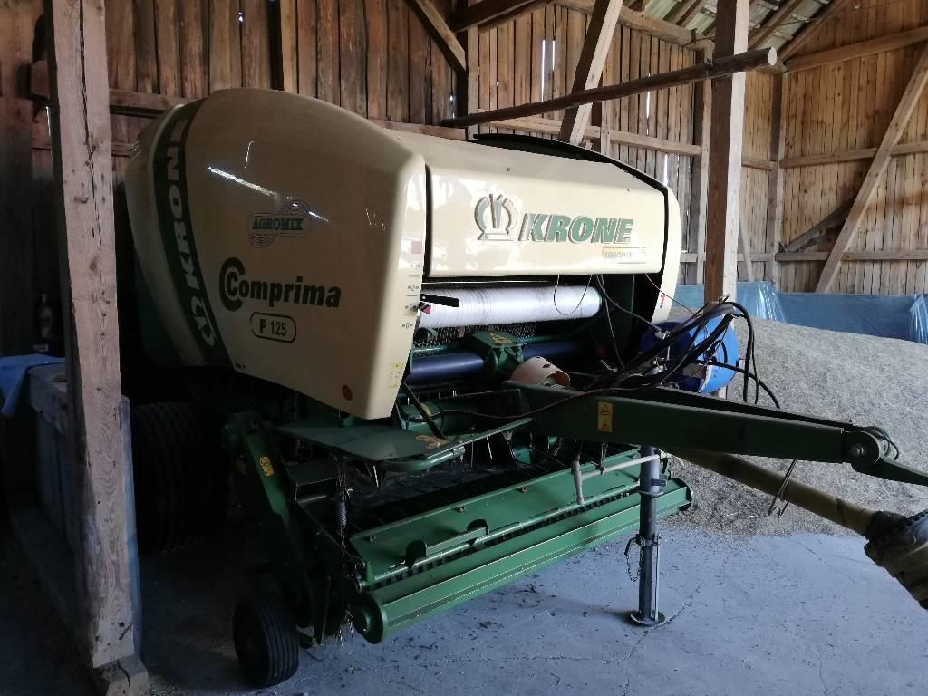 Krone Comprima F 125, Prasy zwijające, Maszyny rolnicze