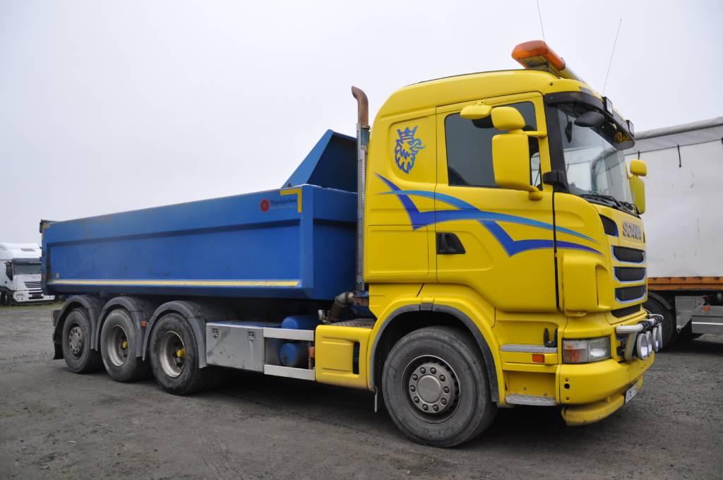 Scania R480 LB8X4*4HSA, Tippbilar, Transportfordon