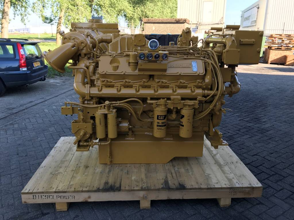 Caterpillar 3412 C DITA - Marine Propulsion - 537 kW - 60M, Marine Applications, Construction