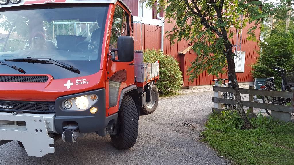 Aebi VT450, Redskapsbärare, Grönytemaskiner