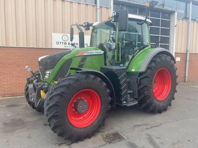 Fendt 724 S4 Profi Plus, Tractoren, Landbouw