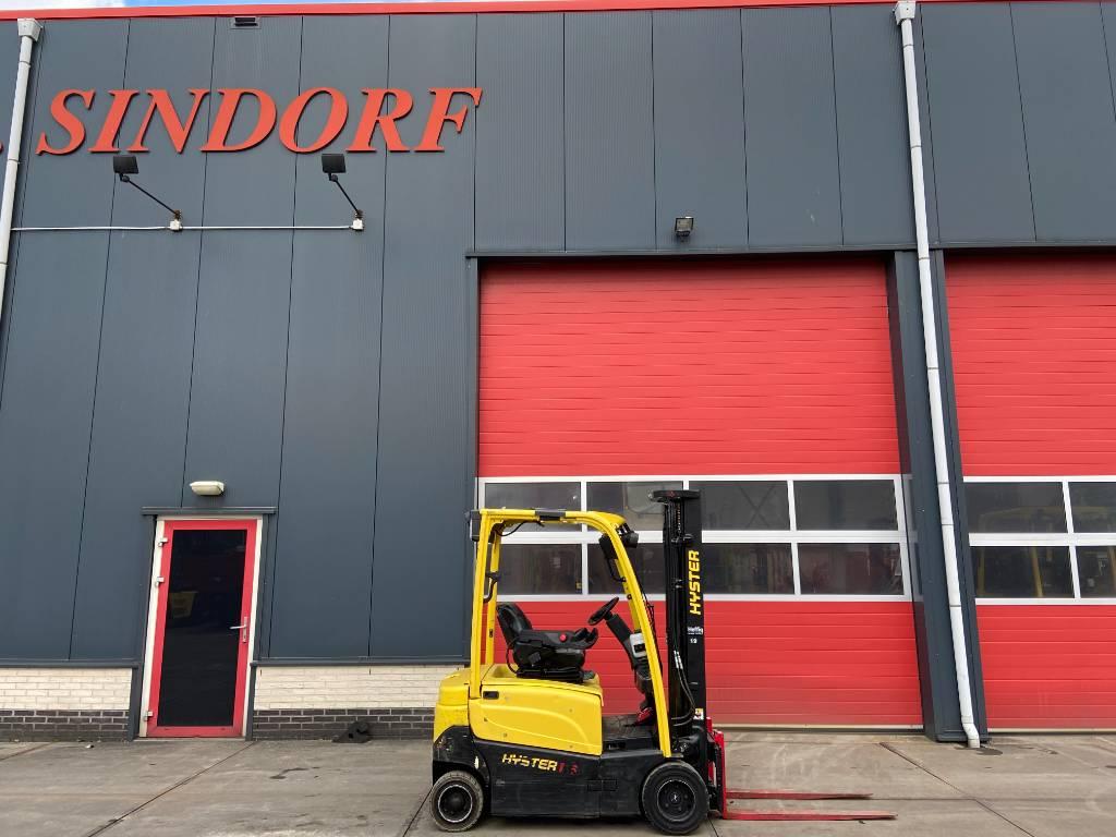 Hyster J1.6XN 1600 kg heftruck, Elektrische heftrucks, Laden en lossen