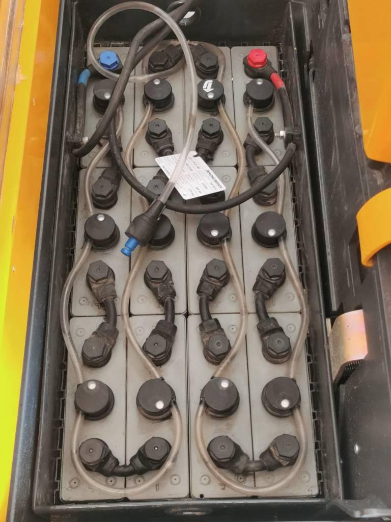 Jungheinrich ERC 216, Ajettavat pinoamisvaunut, Materiaalinkäsittely