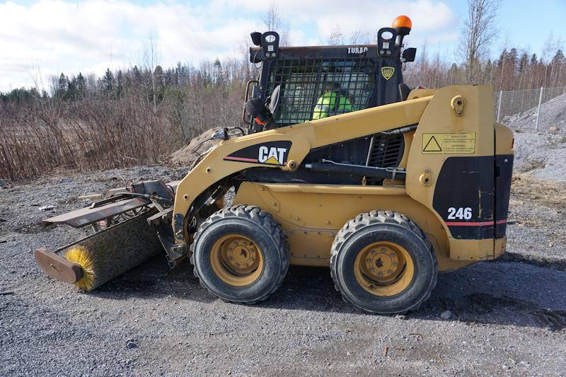 Caterpillar 246, Skid Steer Loaders, Construction Equipment