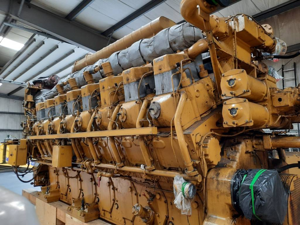 Caterpillar G3616 - Gas Generator - 3753kW - BLB - DPH106579, Electric Power Generator, Construction