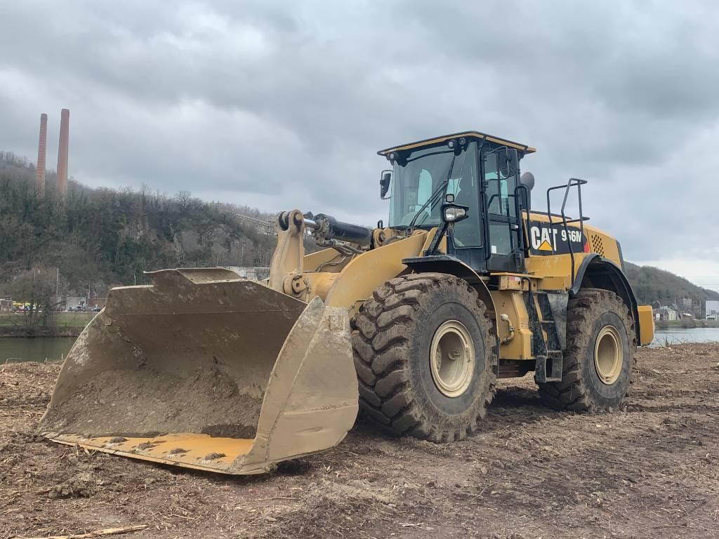 Caterpillar 966 M, Wheel loaders, Construction