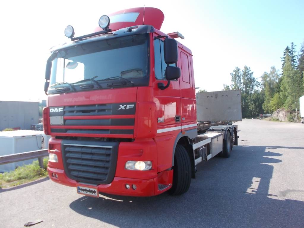 DAF XF105.460, Container Trucks, Trucks and Trailers
