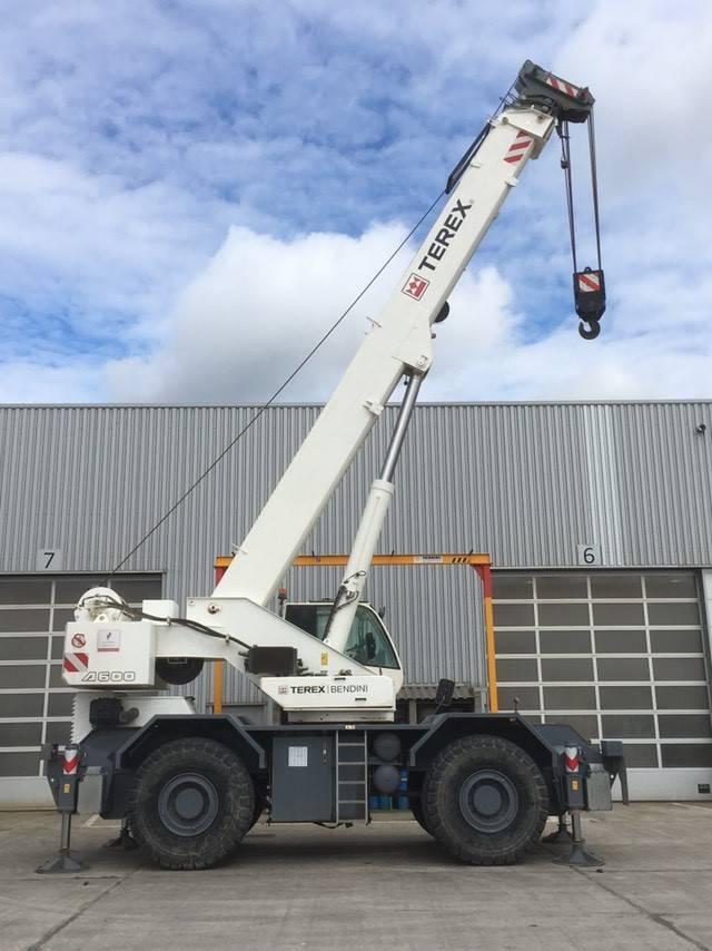 Terex Bendini A600 (2pc), Rough terrain cranes, Construction