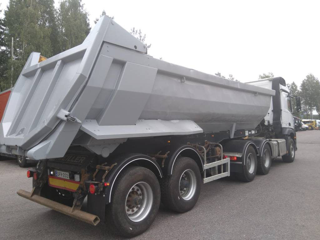Meiller Kipper 1+1, Tipper trailers, Transportation