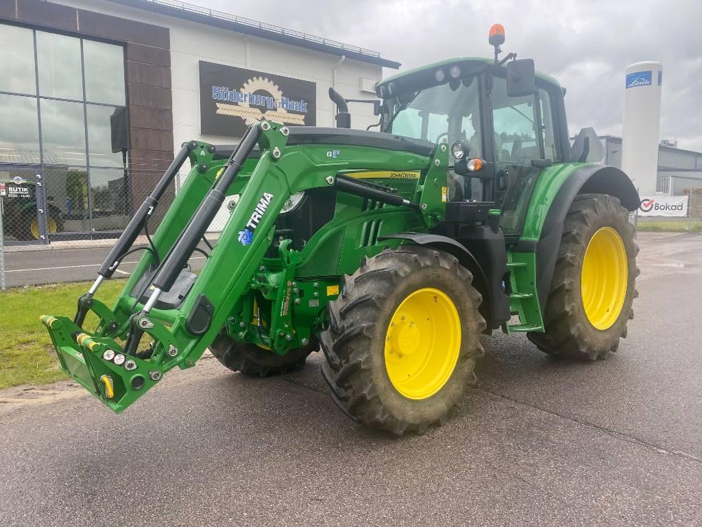 John Deere 6120 M, Traktorer, Lantbruk