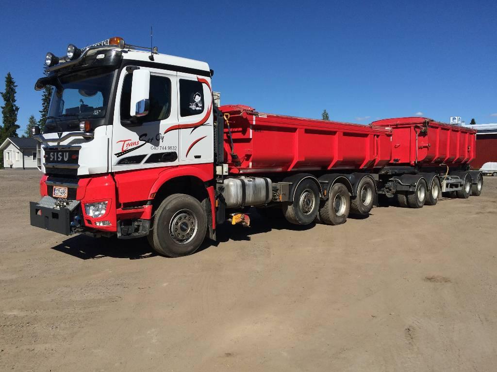 Sisu Sisu Polar CM16M K-AKK-8X4+355+140+137, Tipper trucks, Transportation