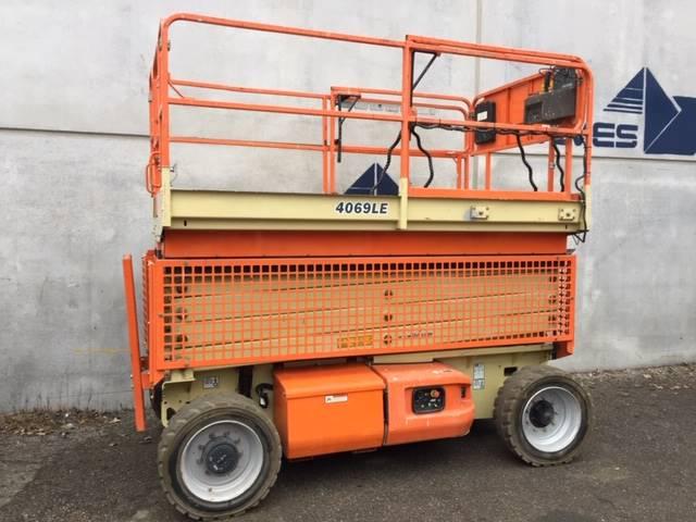 JLG 4069LE, Scissor lifts, Construction