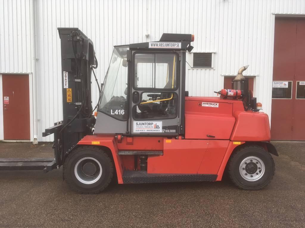Kalmar DCF 90-6, Dieselmotviktstruckar, Materialhantering