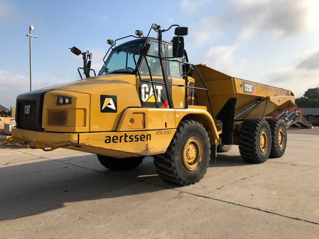 Caterpillar 725 C, Articulated Dump Trucks (ADTs), Construction